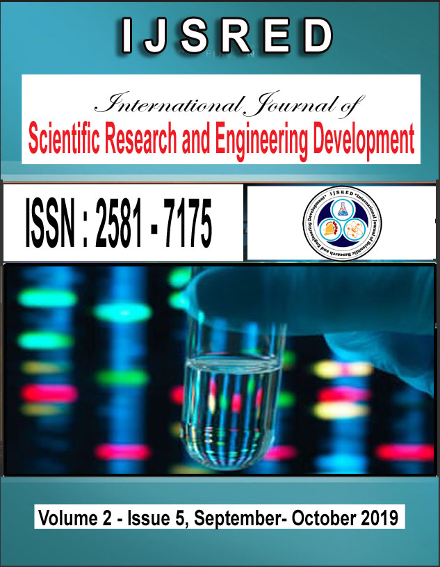 IJSRED Cover-page